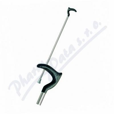 Hůl duralová H81/1 č.3 95cm rovná/zahnutá rukojeť