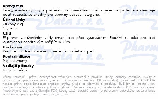 RYOR Suchá citl.pleť Výživný krém Exclusive 50ml