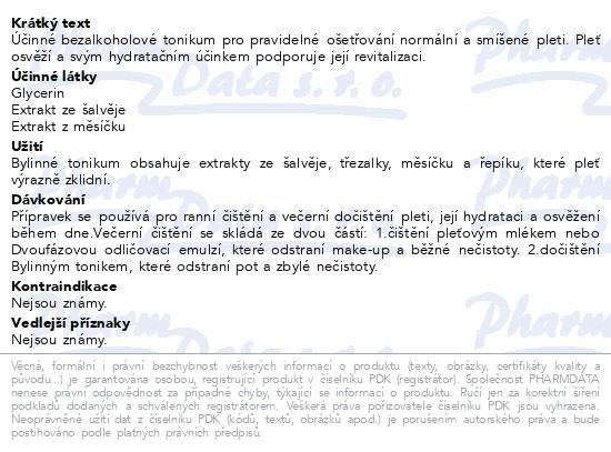 RYOR Bylinné tonikum pro norm. a smíš. pleť 200ml