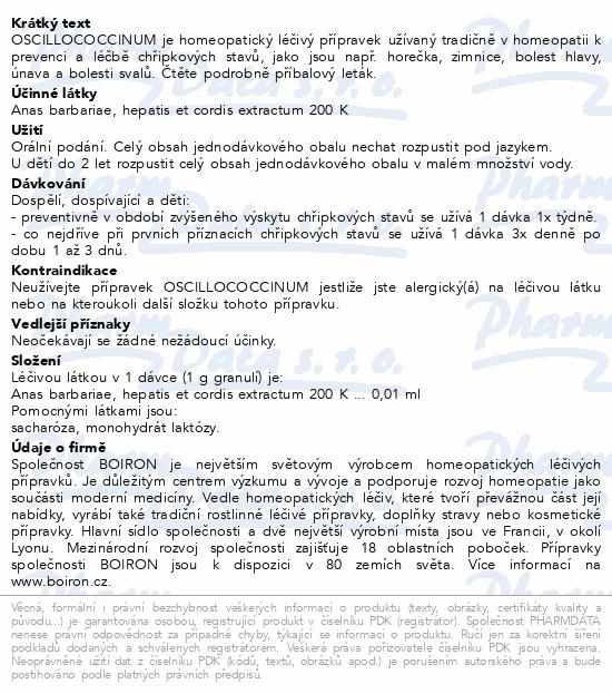 Oscillococcinum gra.30x1g