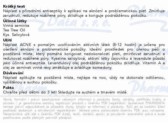 Náplast Fixaplast Acne 24ks