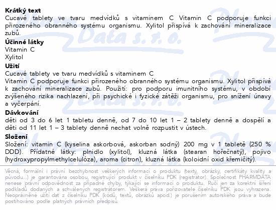 Müllerovi medvídci s vit.C a přích.citronu tbl.45