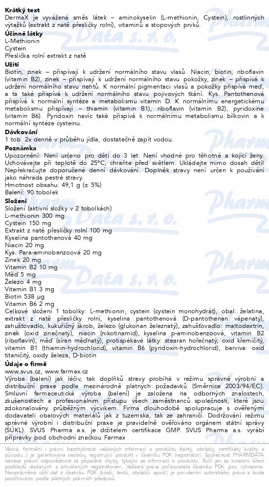 DermaX tob.60+30 zdarma