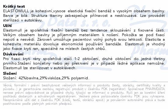Elastomull obinadlo bílé kohezivní 8cmx4m 20ks