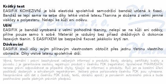 Easifix obinadlo bílé kohezivní 8cmx4m 10ks