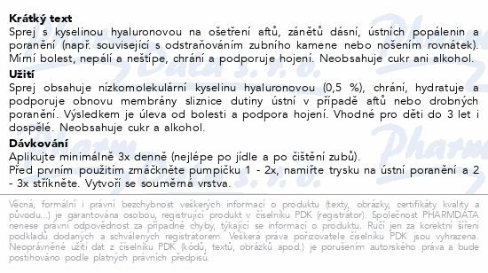 URGO Afty a drobná poranění dut.úst.sprej 15ml