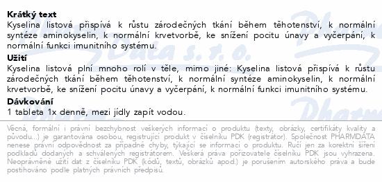 Biotter Kyselina listová tbl.60
