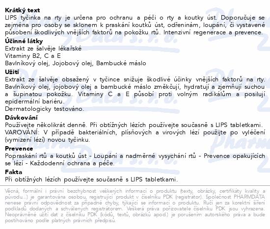 LIPS stick VANILLA 3.8g