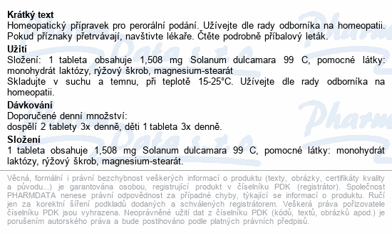 Dulcamara AKH por.tbl.nob.60