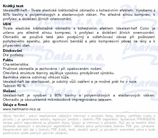 Obin.elast.Idealast-haft color 10cmx4m/1ks červená
