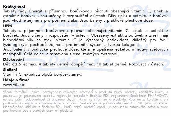 Energit Pro oči tbl.42