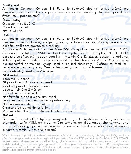 Annabis Arthrocann Collagen Omega 3-6 Forte tbl.60