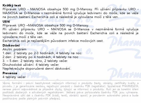 URO - Manosa tbl.40