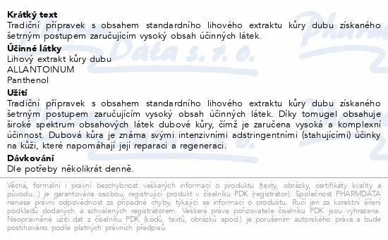 Dubová kůra gel 75ml Dr.Müller