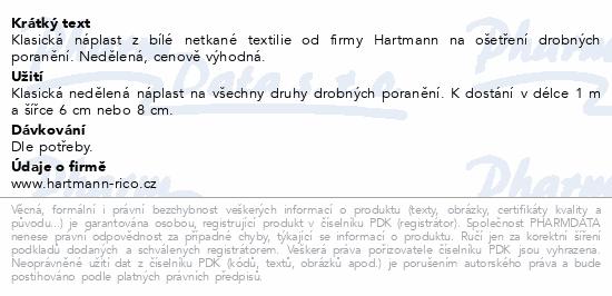 COSMOS náplast Klasická z netkané textilie 1mx6cm