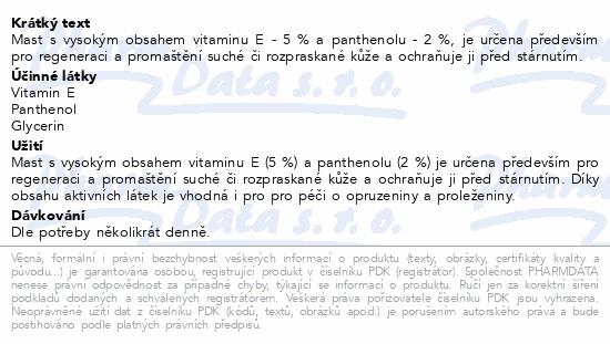 Vitamin E mast 5% 30g Dr.Müller