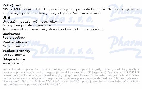 NIVEA MEN krém 150ml 83921