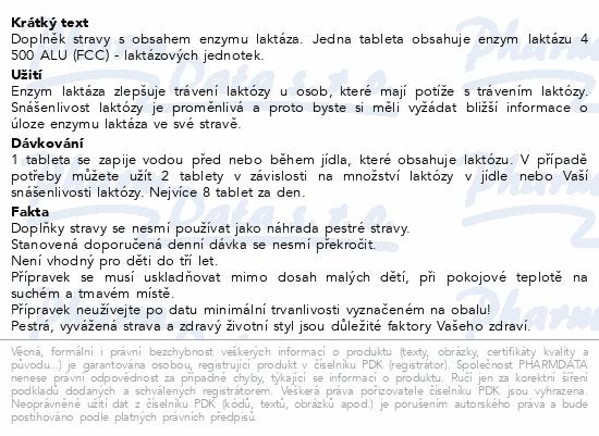 Laktoleraza Generica tbl.30