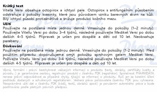 Vitella Versi Gel Pityriasis versicolor 100ml