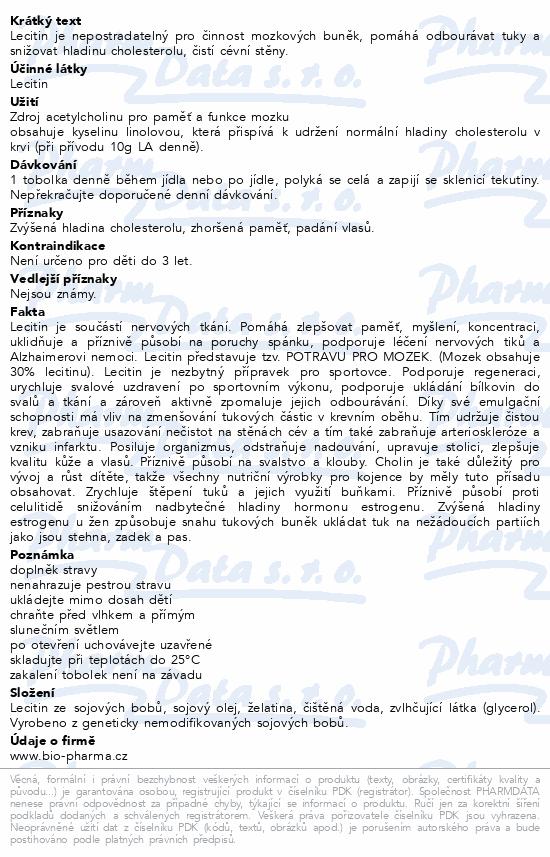 Lecitin Forte 1325mg tob.30+15 BIO-Pharma