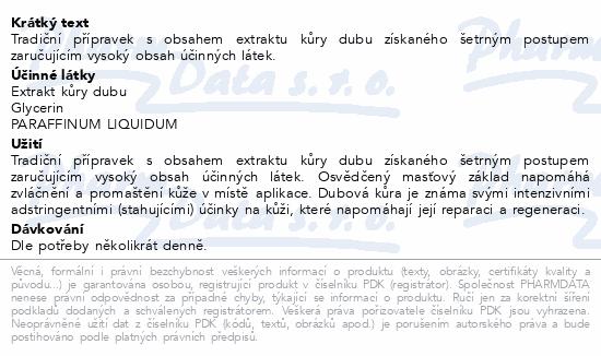 Dubová kůra mast 50ml Dr.Müller