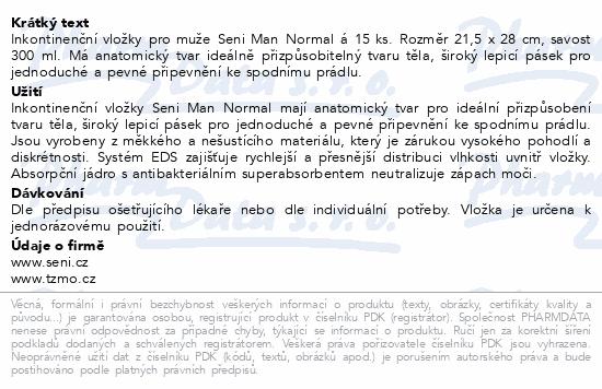 Seni Man Normal 15ks inkont.pomůcky