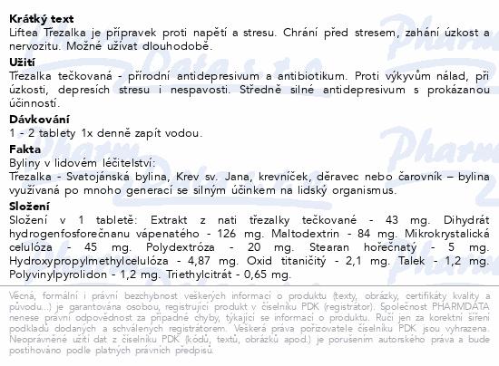 LIFTEA Třezalka tbl.30