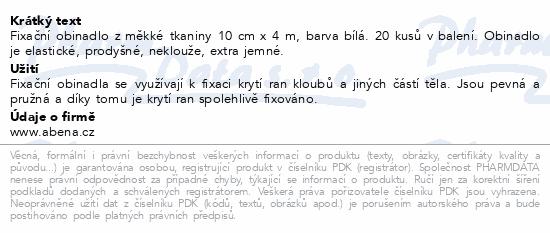 Curi-Med Fixační obinadlo netk. 10cm x 4m 20ks