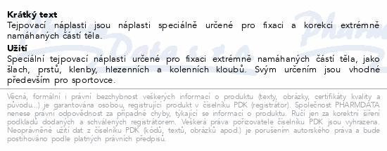 Náplast Mediplast 3.8cmx10m 1ks 1230XTK tejp.červ.