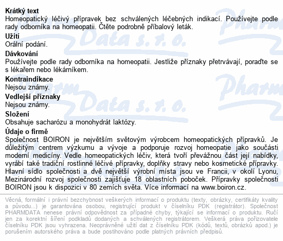 Poumon Histamine 30CH gra.4g