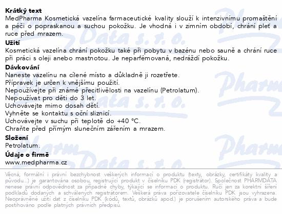 MedPharma Kosmetická vazelína 150g