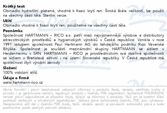 Obin. hydrofil.pletené sterilní 6cmx5m 3004060