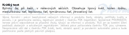 Nontusyl Bylinný čaj proti kašli 20x1.25g Fytoph.