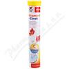 Vitamin C + Zinek 15 šumivých tablet Doppel Herz